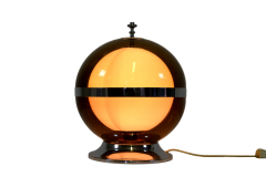 SOLD-Lampada-da-tavolo-Space-Age-doppia-sfera-anni-70-SOLD